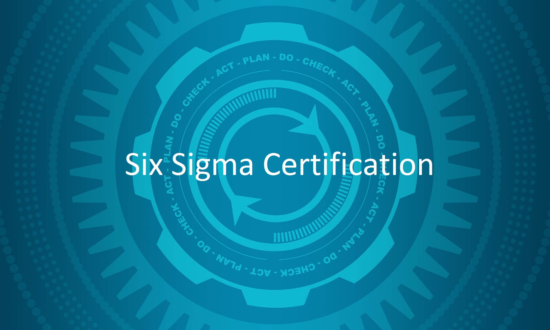 Sigma Certification Course in 2020