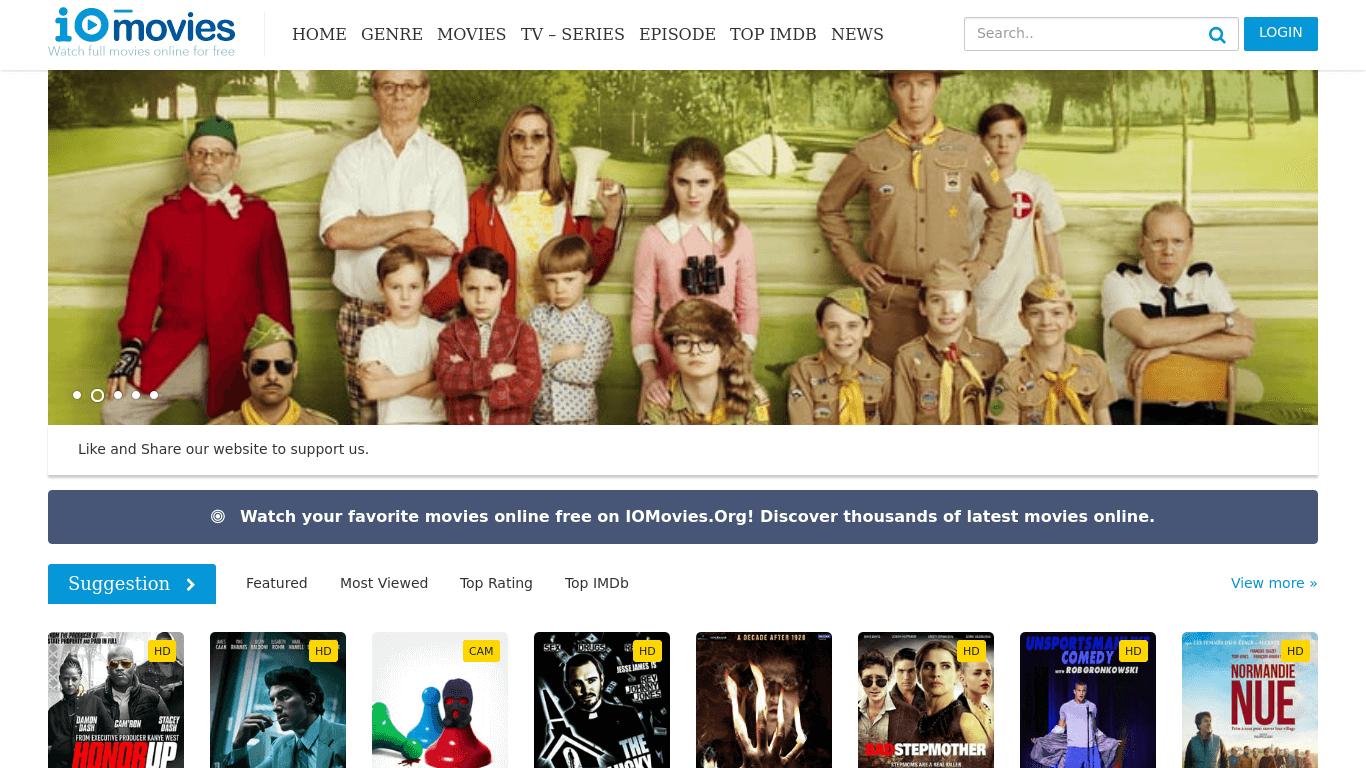 IOMovies - Best Alternatives Sites To Watch Movies Online