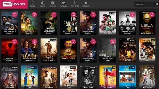 YesMovies 2021 - Illegal HD Hollywood Movies Download
