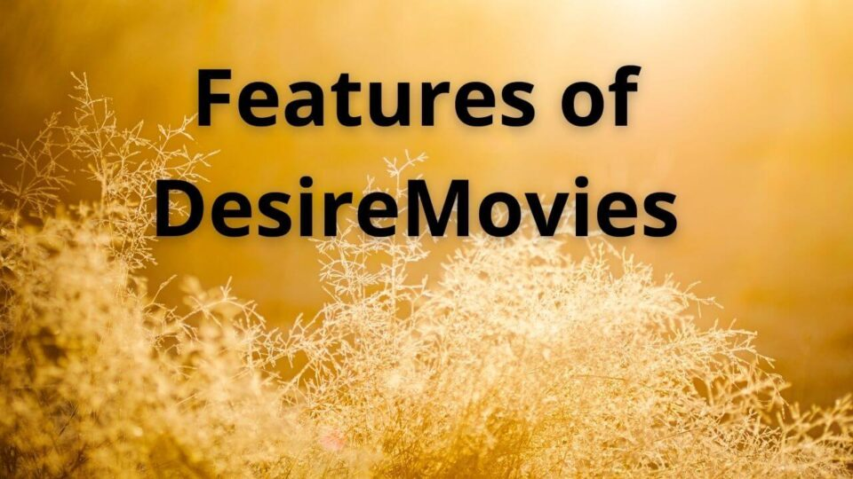 Desiremovies features